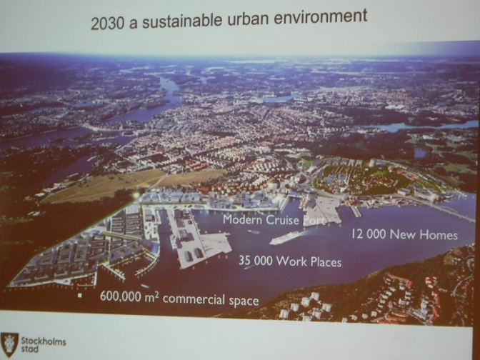持続可能社会への方程式 ~サスティナブル先進国スウェーデン視察記~第二のエコシティ ロイヤルシーポート編