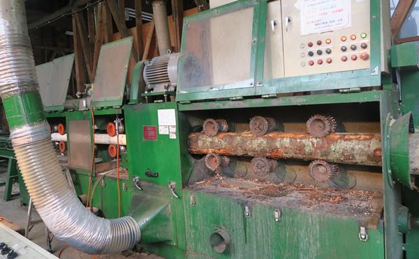 木材加工の機械