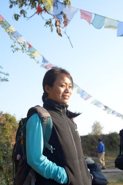 国連WFP提供 ニムドマ・シェルパさん